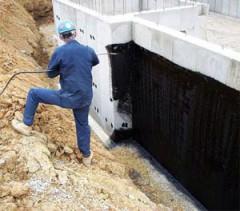 гидроизоляция подвалов и погребов