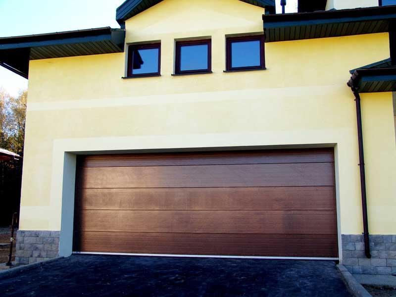 Ворота секционные гаражные автоматические работа автоматики