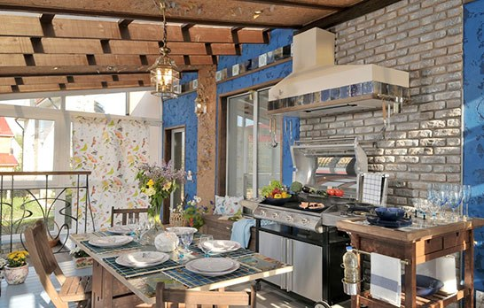 ideas for a summer kitchen