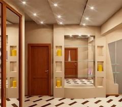 interior hallway room