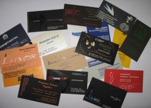 make a good business card