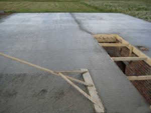 make concrete slab
