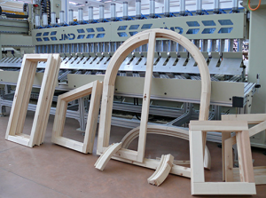 manufacture of wooden windows
