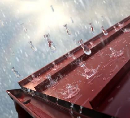 Как бороться с шумом металлочерепицы во время дождя