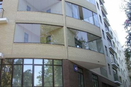 метод остекления балкона