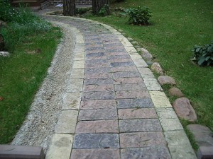 mix paving tiles with