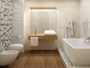 parquet bathroom