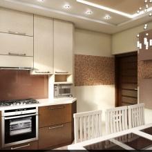 дизайн интерьера кухни. варианты планировки