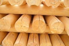 Использование сосны в строительстве домов и бань