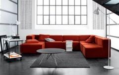 placing the sofa