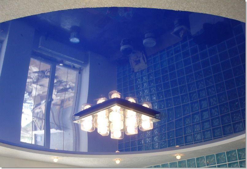 Натяжной потолок двухуровневый своими руками