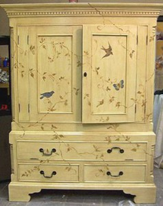 refurbish old furniture in a modern style