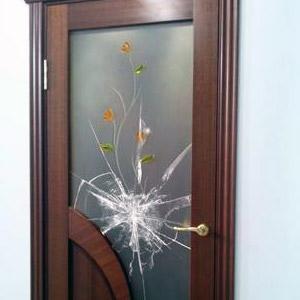 replacement glass interior door