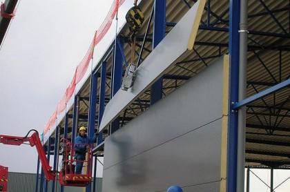 sandwich panels in construction