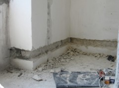 shtrobleniya concrete walls