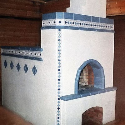 stoke Russian oven