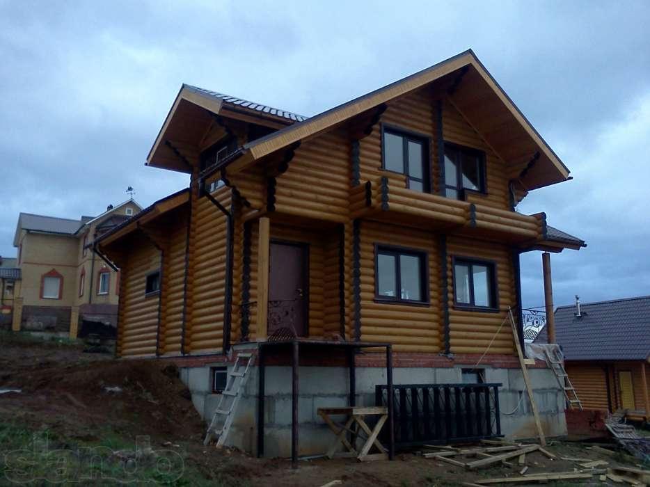 Чем привлекательны деревянные дома из бревен и бруса?