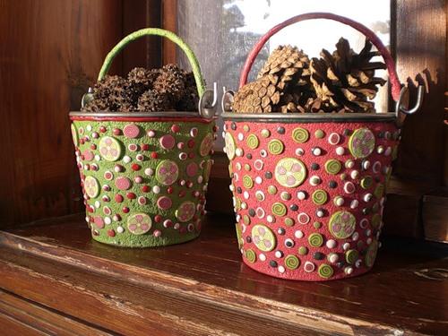 Предметы декора и украшения из полимерной глины