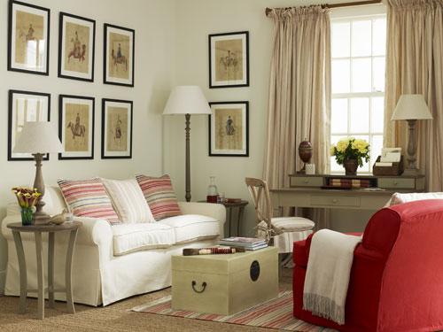 Интерьер спальни в уютном винтажном стиле