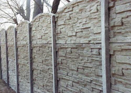 Достоинства бетонного забора